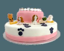 3D Little Dogs Taart Reviews