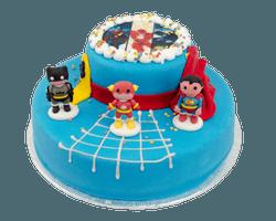 3D Superheroes Taart Reviews