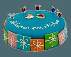 Blauwe Sint Marsepein Taart Reviews