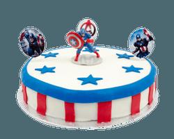 Captain America Marsepeintaart Reviews