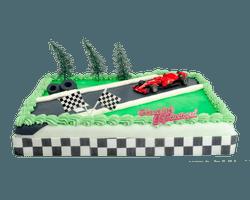 Formule 1 Ferrari taart  Reviews