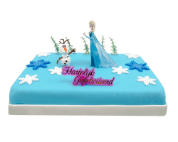 Frozen Elsa Marsepeintaart Reviews