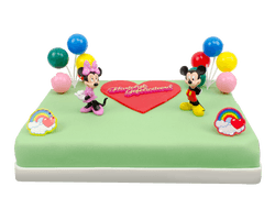 Mickey & Minnie Marsepeintaart Reviews