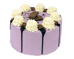 Purple Milka Crunch Layer Cake Reviews