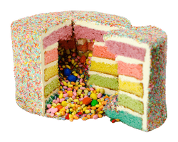 Rainbow Layer cake Reviews