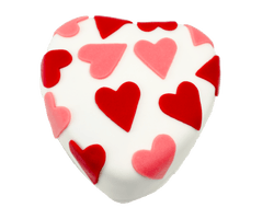 Valentijn Hart Wit Marsepein Reviews