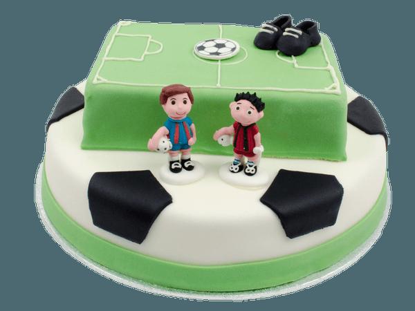 Voetbal 3D taart