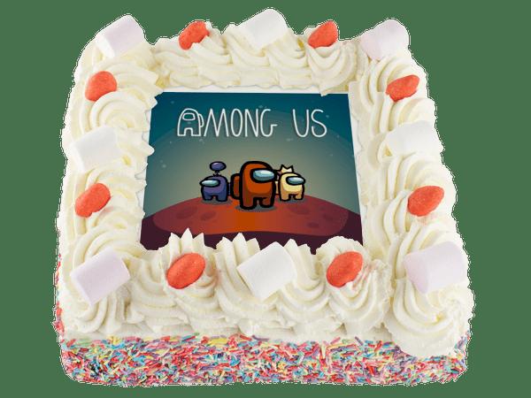 among us taart