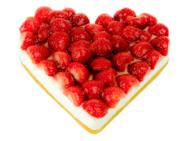 Bavaroise kwark hart