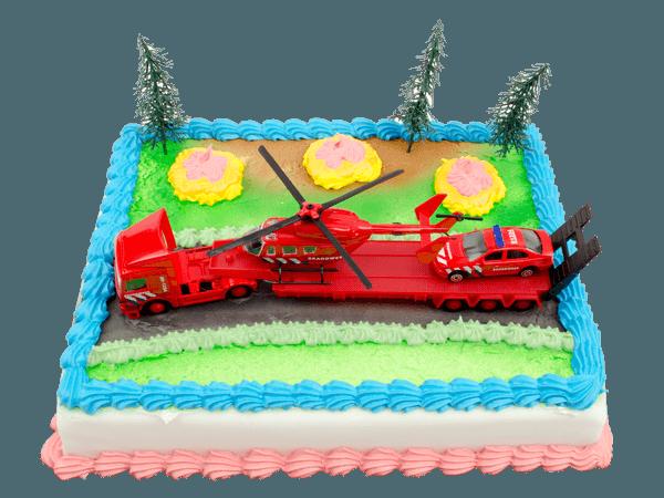 Brandweer taart bestellen