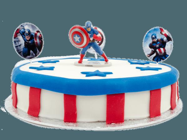 Captain america taart bestellen