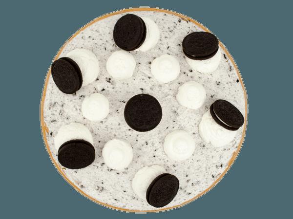 Oreo Chocoladevlaai met vanillecrème