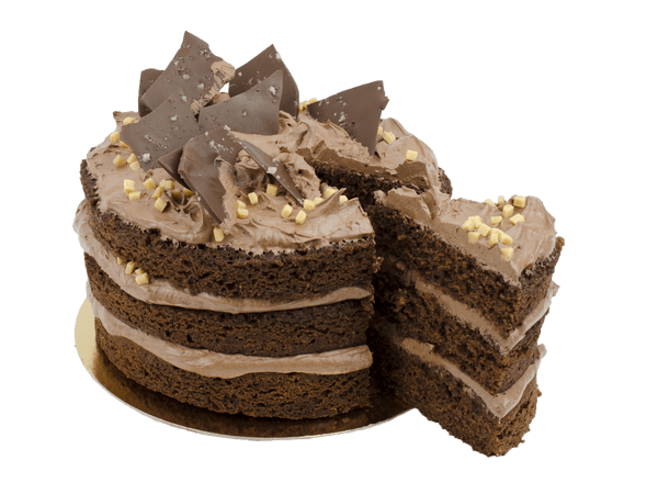 Chocolate Salted Layercake met pure chocola