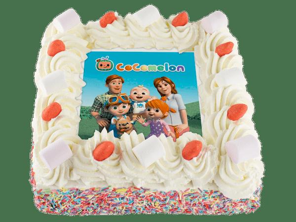cocomelon taart