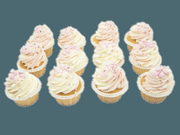 Roze Cupcake Pasgeboren Meisje