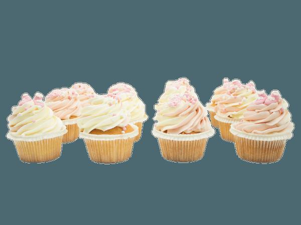 Pink Cupcake Newborn Girl