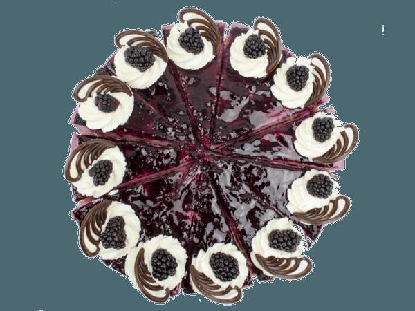 Frambrozenbavaroise Taart met Chocolaatjes