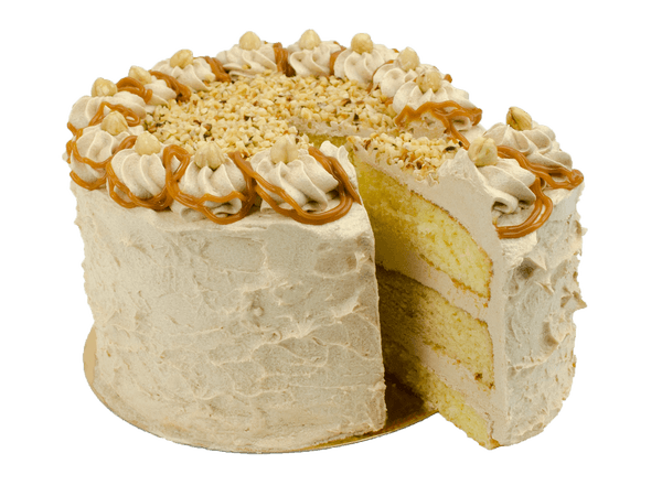 Hazelnut Dream Layercake met caramel