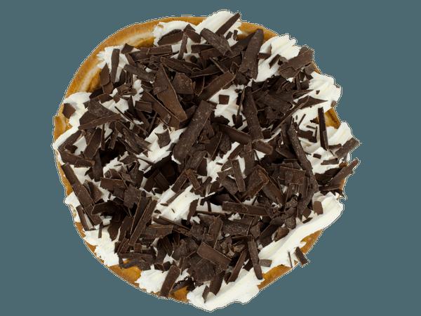 Luxe rijstevlaai met chocoladesnippers