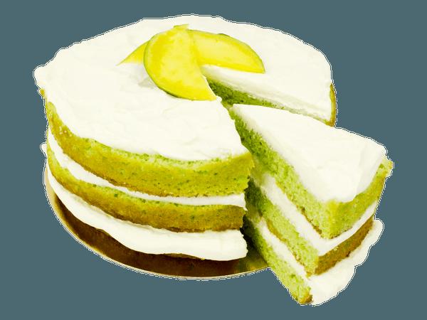 Fresh Mango Layercake met lemon smaak
