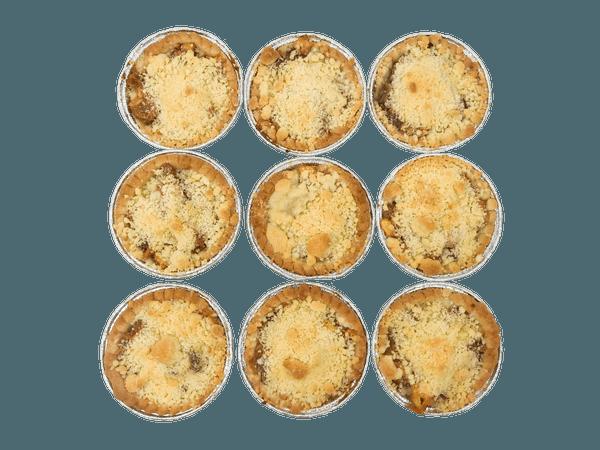 Appel Kruimel taartjes