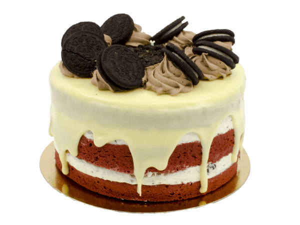 Fonkelnieuw Oreo Velvet Layer Cake bestellen - BestelTaart.nl BM-52
