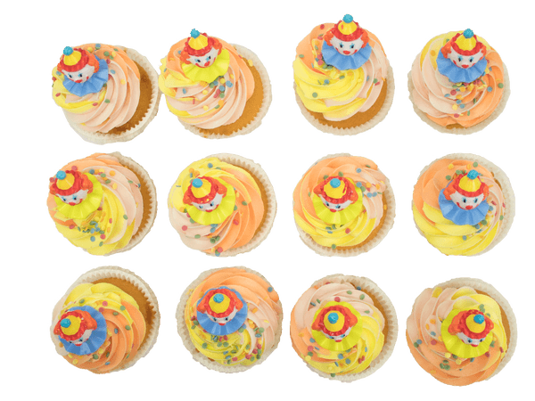 Party Cupcakes met Vanillesmaak