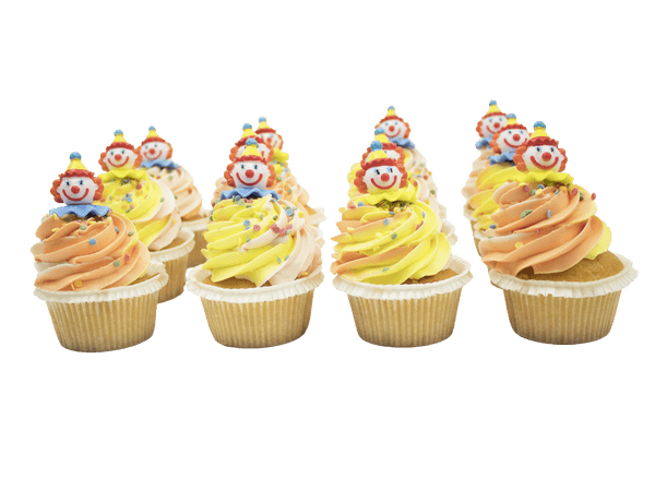 Vrolijke Cupcakes met Clown