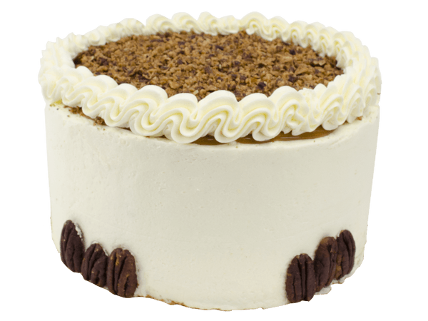 Pecan Layercake met pinda crème