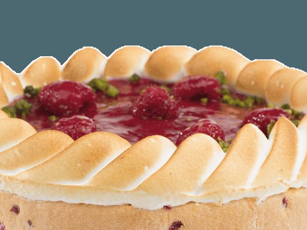 Gâteau Russe Frambozenvulling