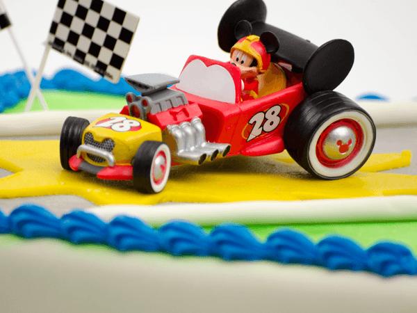 Mickey Mouse Roadster Racers kindertaart