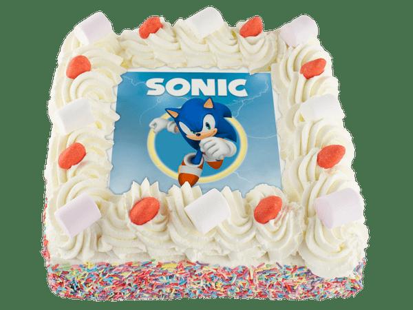 sonic taart
