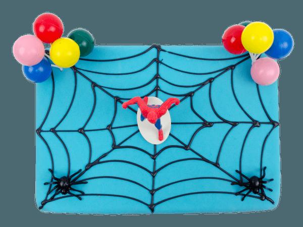 Spiderman verjaardagstaart