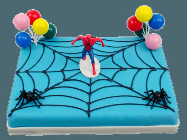 Spiderman taart bestellen