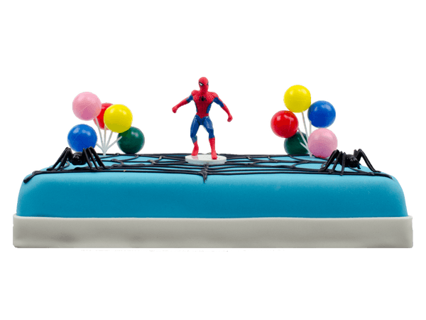 Spiderman kindertaart