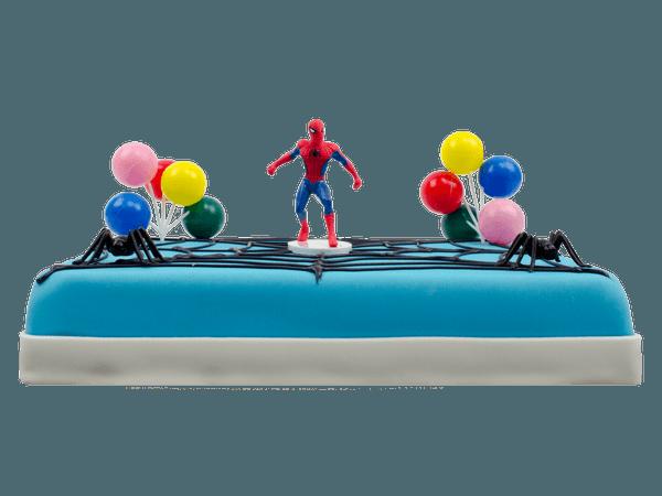 Spiderman kindertaart