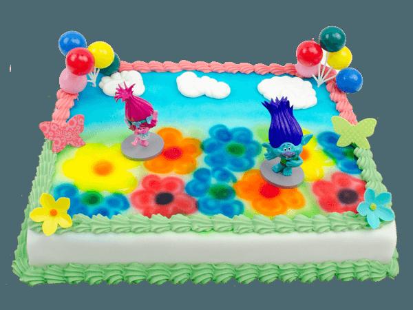 Trolls taart