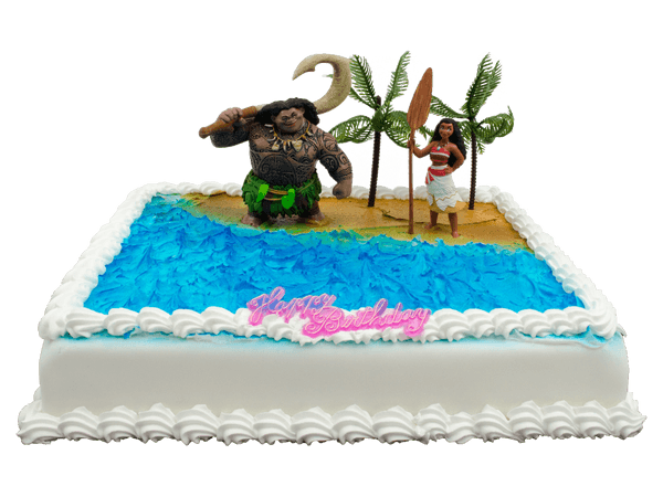 Vaiana taart bestellen